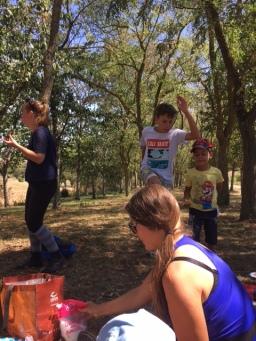 piknik adultes enfants